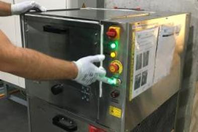 Freze Fikstür Temizleme Makinası